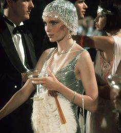 Great Gatsby Fashion, Great Gatsby Party, 20s Fashion, Fashion Mode, Vintage Fashion, 1920s Party, Daisy Great Gatsby, The Great Gatsby Movie, Flapper Party