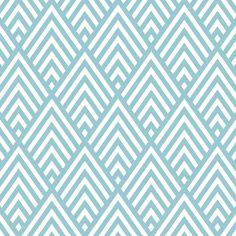 Big triangle chevron pattern background