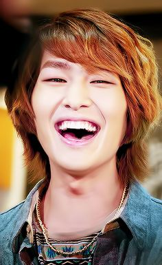 Onew.... Love the longer hair