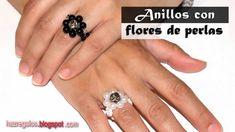 Anillo con Flores de Perlas - DIY - Bead Flower Ring