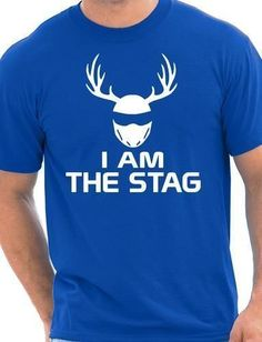 b02804b09 I Am The Stag Stag Night Hen Wedding Mens T-Shirt Size S-XXL. Ideas For Bachelor  PartyFunny ...