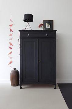 Black closet #Design #homedecor #livingroom #architecture