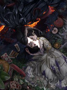 Dark Alice In Wonderland, Adventures In Wonderland, Fandom Games, Alice Madness Returns, Custom Monster High Dolls, Cool Anime Girl, Goth Art, Fairytale Art, Dark Fantasy Art