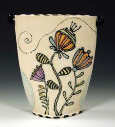 Barbara Chadwick Bland pottery at MudFire Gallery