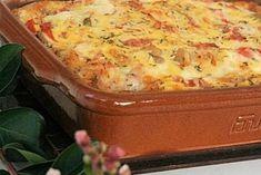 Clafoutis de légumes au chèvre Lasagna, Snacks, Ethnic Recipes, Food, Pains, Quiches, Goat Cheese, Tomatoes, Gratin