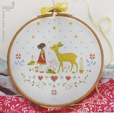 """***** משלוח חינם ***** ערכת רקמה ללא חישוק Embellished Cross Stitch Kit - Bambi Girl הרקמה מעטרת את האיור המודפס על הבד. לפי דף הוראות מצורף ניתן לדעת היכן לרקום את האיקסים. - - - - - - - - - - - - - - - - - - - - - - - - - - - - - - - - - - - - - - - - - - - - - - - - - - - - - - - - - - - - - - הערכה כוללת: דוגמת איור מודפסת על בד אאידה לבן, 21 על 21 ס""""מ דף הוראות הכולל את האיור המודפס ואת מיקום האיקסים לרקמה מחט וחוטי DMC Mouliné - - - - - - - - - - - - - - - - - - - - - - - - - ..."""