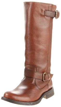 "my steves! have them in cognac and black! @Melissa Gaffney these were the ones you asked me about last year...though i still love your idea about buying Frye ""Melissa""s since it's only fitting :)"
