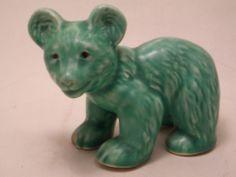 Vintage Sylvac Green Bear