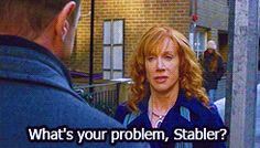 "When Elliot wasn't a fan of Babs Duffy. | Community Post: 42 Times ""Law And Order: SVU"" Perfected The Art Of Sass"