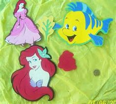 The Little Mermaid Scrapbook Embellishments Cut With Cricut