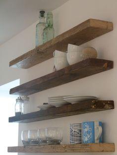 shelving in kitchen | ... Kitchen Shelves In Natural Kitchen Designs Creative Ideas Kitchen