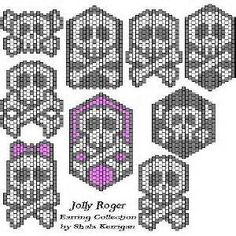 Jolly Roger Beaded Jewelry Patterns - Bing Images