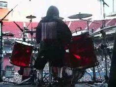 slipknot - joey jordison (sic) Drumming