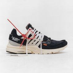huge discount 9b82e 26586 Abloh has imprinted humorous, self-referential logos on various parts of  the different shoes