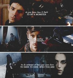 Merlin, Arthur, and Morgana. This is really cool.