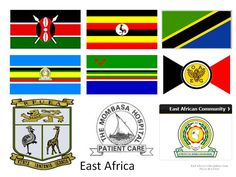 Flags & Crests of East Africa