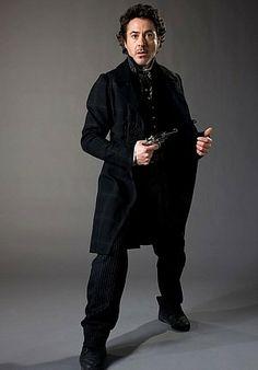 The name is Holmes.  Sherlock Holmes. (Robert Downey Jr.)