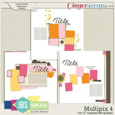 Multipix 4 Templates (Commercial Use)