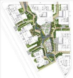 「campus landscape drawing sasaki promnade associates」の画像検索結果 #LandscapeLayout #LandscapeMasterplan