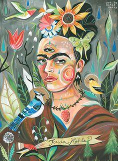 Frida by Katie Daisy