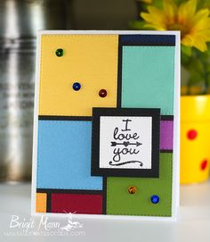 "Brigit's Scraps ""Where Scraps Become Treasures"": I Love You - My Creative Time Trending Now Color Blocking"
