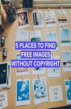 15 Resources To Find Images Without Copyright For Free