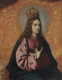 Regina Angelorum, by Francisco de Zurbarán