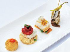 Tapas Gourmet con pescado