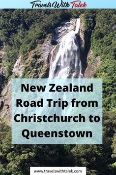 If you're looking for an epic New Zealand road trip itinerary for the South Island, look no further. Drive from Christchurch to Queenstown on Route 6 and see breathtaking views, take in the sights of the major cities, hike rain forest trails, and more. Be sure to have your camera ready for some amazing New Zealand photography as well on this road trip of a lifetime. #newzealand #christchurch #travel #travelguide #travelitinerary