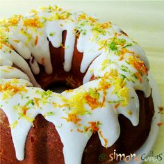 Chec trei citrice cu smantana / Citrus Pound Cake Sweet Bread, Pound Cake, Doughnut, Desserts, Sweets Recipes, Cheesecake, Food And Drink, Cooking, Fruit Cakes