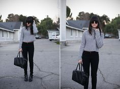 Turtlenecks are cool... (by Casey David) http://lookbook.nu/look/4495631-Turtlenecks-are-cool