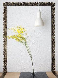"""PALPITANDO EM TUDO: Coisas para a casa - """"Essa moldura é uma fita adesiva, da Frame Tape. Inusitado, não?"""""""