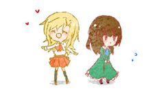 Together Forever by yamon-venzli on DeviantArt Best Sister, Together Forever, Cool Things To Make, Disney Characters, Fictional Characters, Horror, Rpg Maker, Marvel, Deviantart