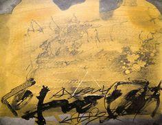 Antoni Tàpies - Esgrafiat Amb Triangle - Catawiki