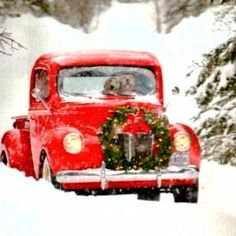We are six days away From Christmas! I want to wish my readers a Merry Christmas, Happy Hanukkah, and Happy Holidays! You, my extended fa. Merry Little Christmas, Noel Christmas, Country Christmas, Winter Christmas, All Things Christmas, Vintage Christmas, Christmas Cards, Christmas Decorations, Christmas Truck