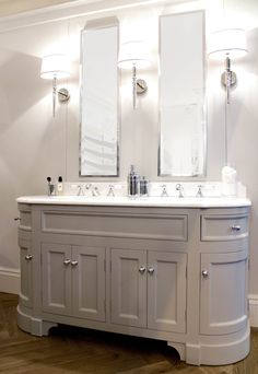 Double Stratford Painted Unit with Crystal White Marble Top… Upstairs Bathrooms, Ensuite Bathrooms, Master Bathroom, Bathroom Vanities, Teal Bathrooms, Bathroom Renovations, Double Basin Vanity Unit, Vanity Units, Bathroom Furniture Uk