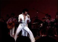 Elvis Presley singing Poke Salad Annie
