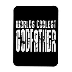 Baptism Christening Gifts Worlds Coolest Godfather Rectangle Magnets