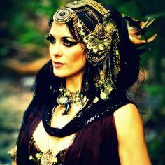 Headdress loveliness