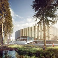Copenhagen Arena   Competition Won By And Team With HKS Architects, Arup,  ME Engineers And Planit. Spotted By