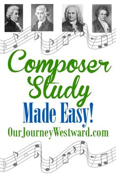 Confession time.  I've been really slow about starting composer study with Eli (2nd grade.)  Yep.  Even seasoned Charlotte Mason homeschoolers don't do everything all the time.  But...and this is a...