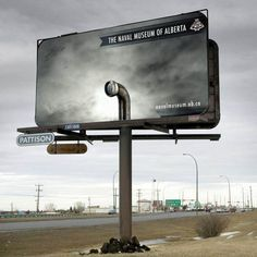 The Naval Museum Of Alberta Creative Billboard http://www.arcreactions.com/services/videography/