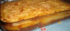 Ingredientes  Molho de carne moída: 500 g de paleta (ou a carne de sua preferência) moída 2 cebolas cortadas em cubinhos 2 dentes de alho picadinhos 2 tabletes de caldo