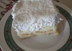Vanilla Cake, Food And Drink, Desserts, Recipes, Greek, Kuchen, Tailgate Desserts, Deserts, Postres