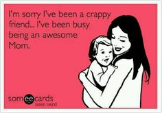 So true too many selfish parents doing there thing not being parents...
