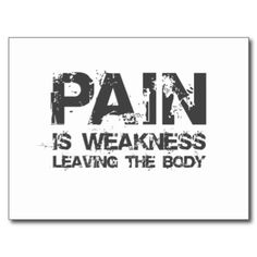 Pain is weakness leaving the body, making you stronger. I saw this on Diary of a Wimpy Kid and really liked it. Great Quotes, Quotes To Live By, Me Quotes, Motivational Quotes, Inspirational Quotes, Knee Surgery, I Work Out, Work Hard, Health Motivation