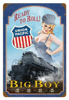 """Ready to Roll!"" Metal Sign"