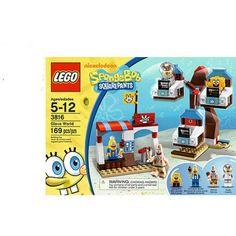 Lego SpongeBob SquarePants Glove World, Multicolor