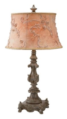 I just got two of these lamps for my guest bedroom which is shabby chic. It has a circa 1910 antique cast iron and brass bed, a circa 1920 antique chandelier and other vintage and antique finds in it. I've been searching for lamps for 2 years now. So excited to have finally found these! I'll need to paint the stem a distressed white. That should be easy enough though!