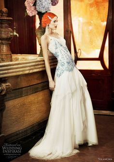 YolanCris 2011 Revival Vintage Wedding Dress Collection | Wedding Inspirasi